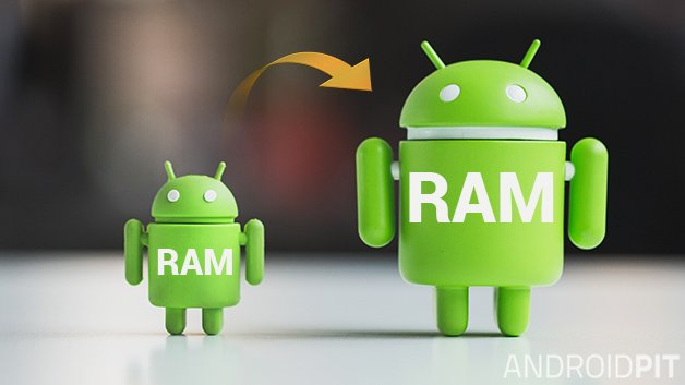 how to increase android ram, size with or without root, increase android ram, upgrade android ram size