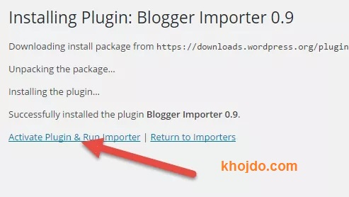 Active plugin and import